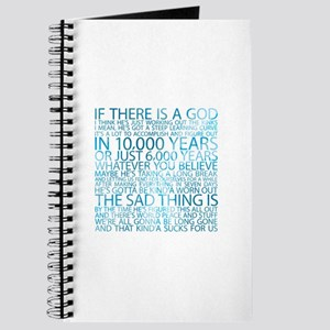 God's working on it Journal