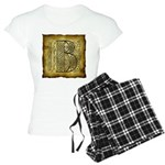 Celtic Letter B Women's Light Pajamas