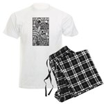 Celtic Surreality Men's Light Pajamas