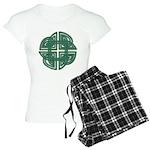 Celtic Four Leaf Clover Women's Light Pajamas