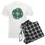 Celtic Four Leaf Clover Men's Light Pajamas