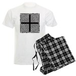 Celtic Square Cross Men's Light Pajamas