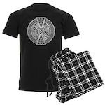 Celtic Dragons Men's Dark Pajamas