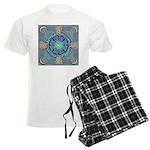 Celtic Eye of the World Men's Light Pajamas