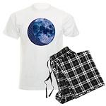 Celtic Knotwork Blue Moon Men's Light Pajamas