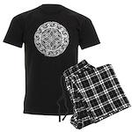 Celtic Shield Men's Dark Pajamas