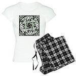 Celtic Spiral Stepping Stone Women's Light Pajamas