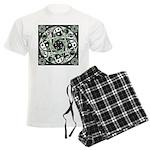Celtic Spiral Stepping Stone Men's Light Pajamas