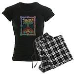 Celtic Tree of Life Women's Dark Pajamas