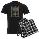 Celtic Tree of Life Men's Dark Pajamas