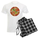Celtic Autumn Leaves Men's Light Pajamas