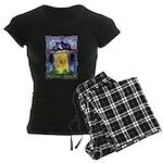 Celtic Doorway Women's Dark Pajamas