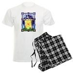 Celtic Doorway Men's Light Pajamas