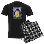 Celtic Doorway Men's Dark Pajamas