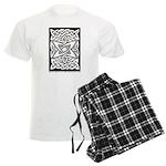 Celtic Knotwork Quasar Men's Light Pajamas
