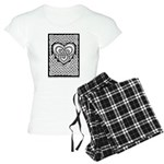 Celtic Knotwork Heart Women's Light Pajamas
