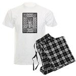 Celtic Knot Bare Branches Men's Light Pajamas