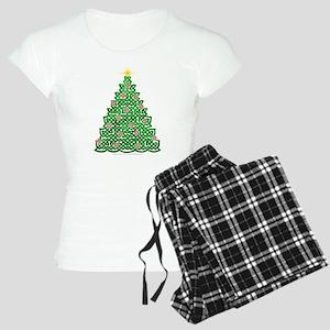 Celtic Christmas Tree Women's Light Pajamas