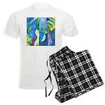 Jungle River Men's Light Pajamas