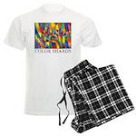 Color Shards Men's Light Pajamas