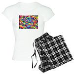 Cosmic Ribbons Women's Light Pajamas