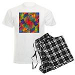 Worlds Abstract Men's Light Pajamas