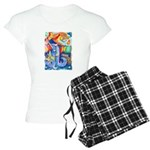 Surreal Seascape Watercolor Women's Light Pajamas