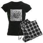 Cosmic Thing Women's Dark Pajamas