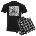 Cosmic Thing Men's Dark Pajamas
