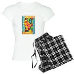 Autumn Quilt Watercolor Women's Light Pajamas