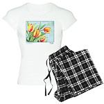 Tulips Watercolor Women's Light Pajamas