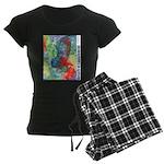 Breach of Containment Art Women's Dark Pajamas