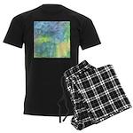 Undersea Luminescence Men's Dark Pajamas