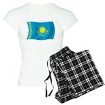 Kazakhstan Flag Women's Light Pajamas