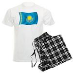 Kazakhstan Flag Men's Light Pajamas