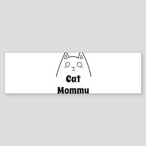 Love My Cat Mommy Bumper Sticker