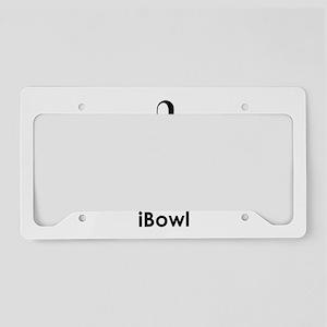 iBowl License Plate Holder