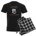 Mister Right Men's Dark Pajamas