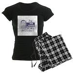 Coffee Shop Ad Women's Dark Pajamas