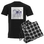 Coffee Shop Ad Men's Dark Pajamas