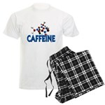 Caffeine Molecule Men's Light Pajamas