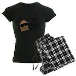 Full Of Beans Women's Dark Pajamas