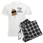Full Of Beans Men's Light Pajamas
