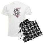 Cheshire Cat Men's Light Pajamas
