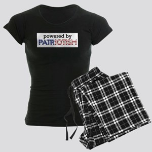 Powered By Patriotism Women's Dark Pajamas