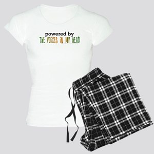 Powered By Voices In My Head Women's Light Pajamas