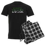 Powered By Veggies Men's Dark Pajamas