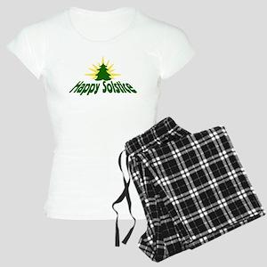 Happy Solstice Women's Light Pajamas