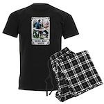 Who Are You Men's Dark Pajamas