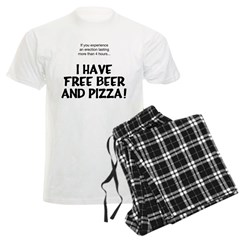 Free Beer And Pizza Pajamas